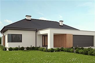 Projekt domu uA65v1