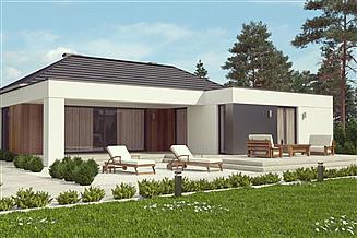 Projekt domu uA65v2