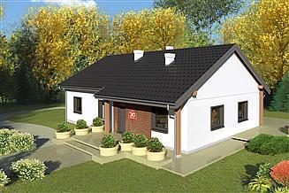 Projekt domu Dom przy Bukowej 30