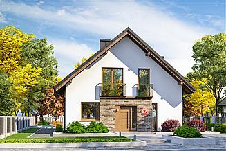 Projekt domu Dom przy Cyprysowej 57