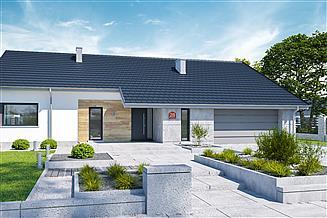 Projekt domu Dom przy Przyjemnej 28 bis