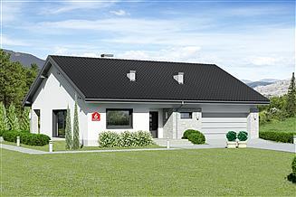 Projekt domu Dom przy Rubinowej 6