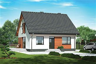 Projekt domu Murator M236d Niezawodny - wariant IV