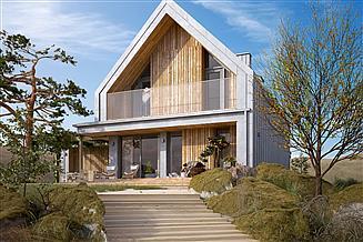 Projekt domu Malutki 4