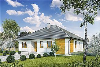 Projekt domu Murator M219a Wspaniałe słońce - wariant I