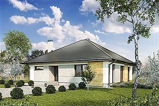 Projekt domu Murator M219b Wspaniałe słońce - wariant II