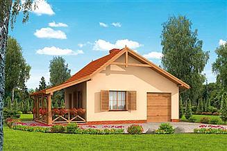 Projekt domu Bahia C dom mieszkalny, całoroczny