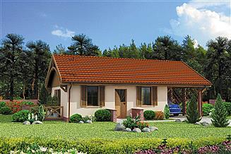 Projekt domu Awinion C dom mieszkalny, całoroczny