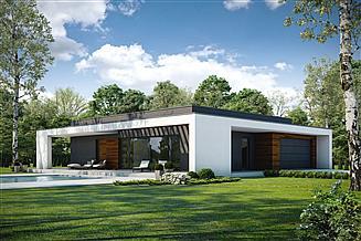 Projekt domu Otwarty D42 wariant III