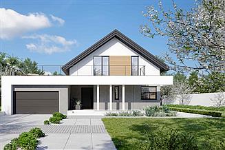 Projekt domu HomeKoncept-02 G2 energo – wariant 1