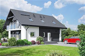 Projekt domu Bronowice 3mgk
