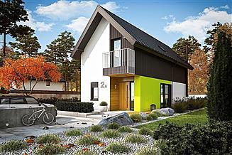 Projekt domu Moniczka II (wersja A) energo