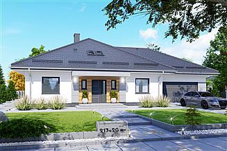 Projekt domu APS 217 + 2G NEW
