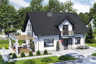 Projekt domu Dom przy Alabastrowej 56