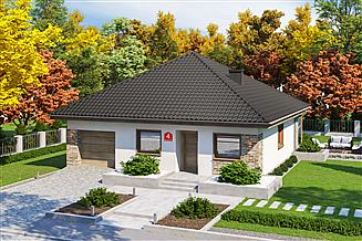 Projekt domu Dom przy Niezapominajek 4