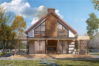 Projekt domu Weranda 2