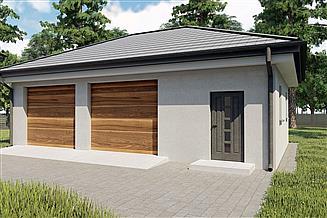 Projekt garażu KP-G50