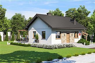 Projekt domu Dom przy Topolowej 4