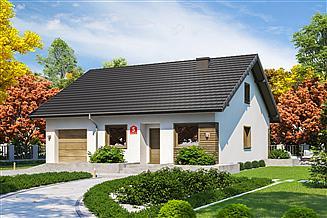 Projekt domu Dom przy Niezapominajek 5