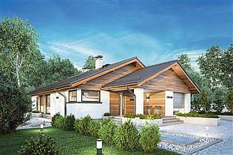 Projekt domu Pliszka IV Sz