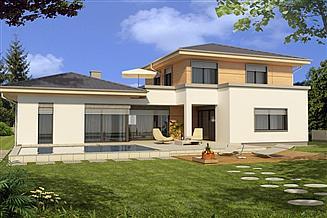 Projekt domu Andaluzja 2-lokalowy