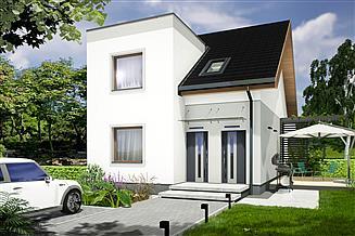 Projekt domu Paweł i Gaweł 2A