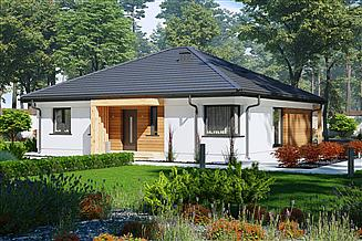 Projekt domu Sej-Pro 015 energo