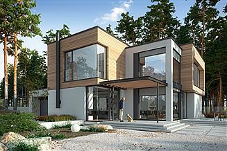 Projekt domu Otwarty 1