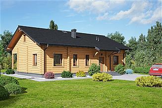 Projekt domu Adomierz 1dw