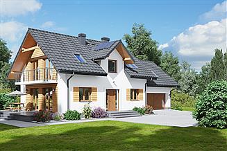 Projekt domu Żarowo 1mgg