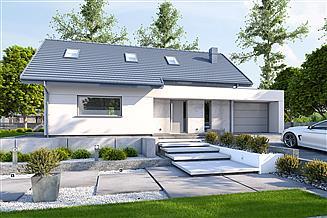 Projekt domu DomPasja 56