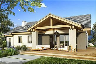 Projekt domu Szarlotka B