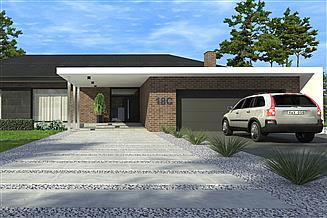Projekt domu New House 18 C