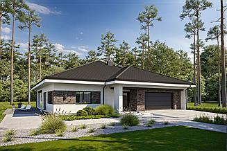 Projekt domu Odpowiedni D66