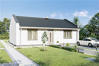 Projekt domu Solaris 1 - bez garażu