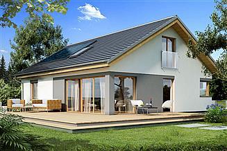 Projekt domu Karmel B