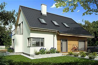 Projekt domu Tymon A