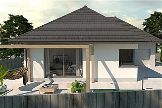 Projekt domu Ekotypowy 45