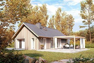 Projekt domu Wakacyjny 2