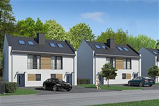 Projekt domu JB53 dwurodzinny