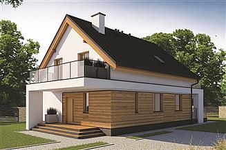 Projekt domu Kos 2