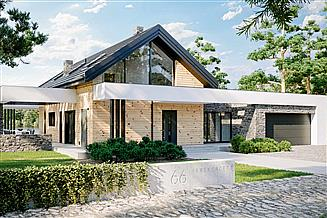 Projekt domu HomeKoncept-66 A G2
