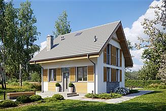 Projekt domu Sześcienny S1-2