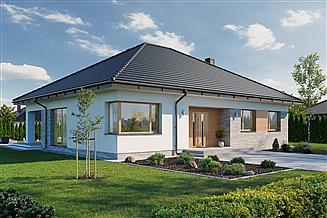 Projekt domu Domena 124 C