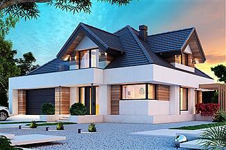 Projekt domu Opałek X 2G