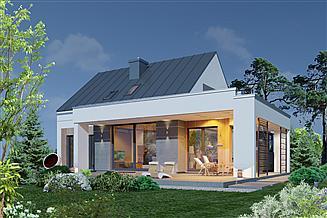 Projekt domu Domidea 98