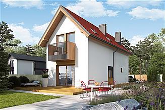 Projekt domu Moniczka II (wersja B) energo