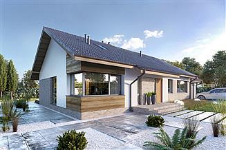 Projekt domu Arosa III LMB115b
