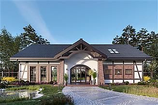 Projekt domu weselnego Budynek usługowy Orzeł II DCU01a