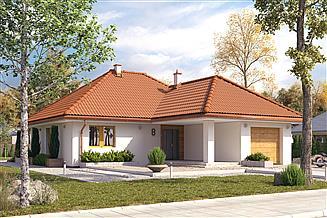 Projekt domu Aruba 4